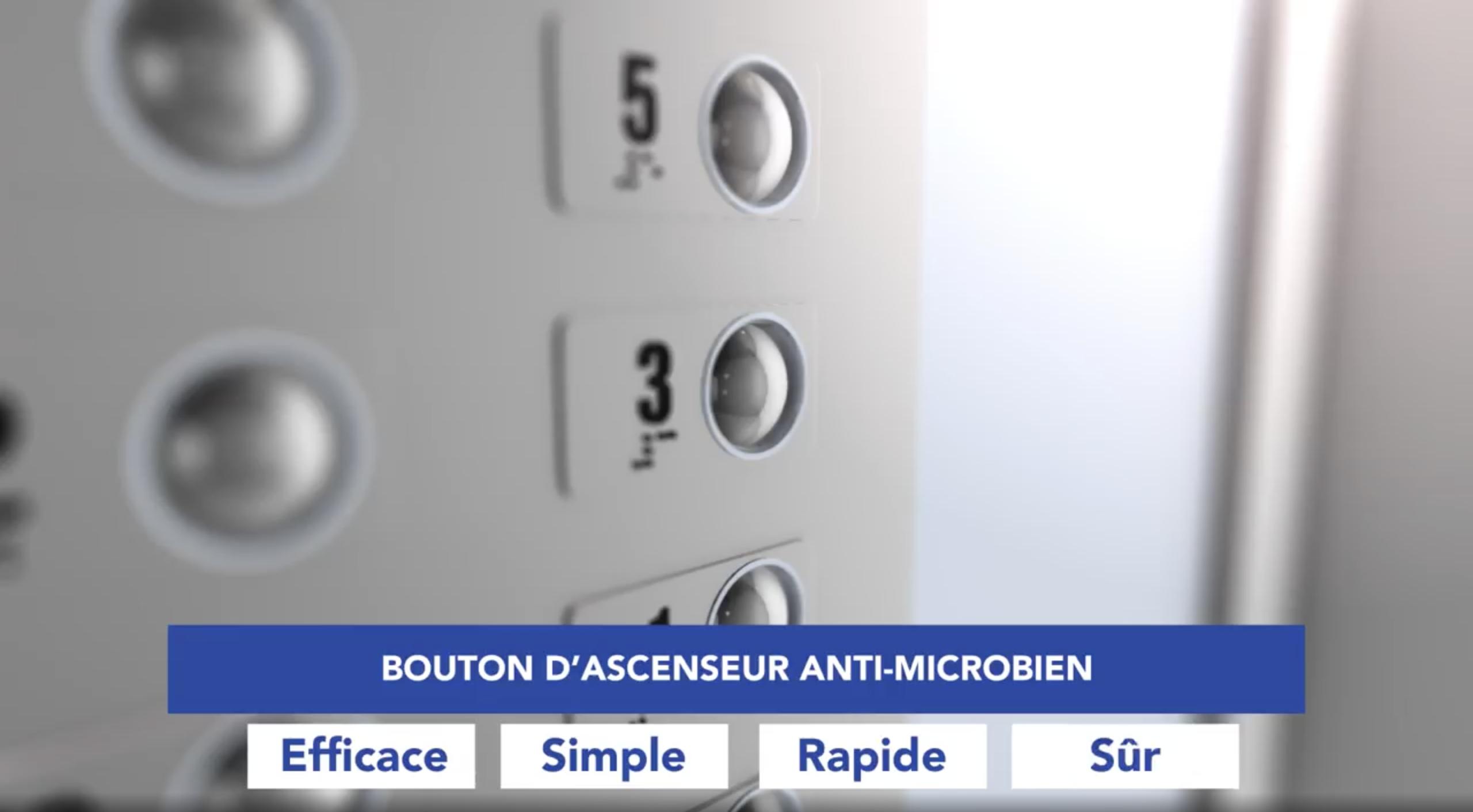 Optech participe à un projet novateur de bouton d'ascenseur antibactérien